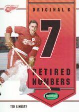 2003-04 Parkhurst Original Six Detroit Inserts Hockey Cards Pick From List