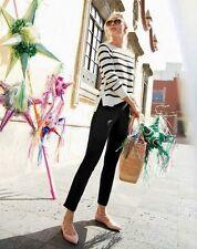 NWT £130 Designer J.CREW Stretch WOOL Slim PANTS Black & Colors