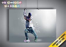 Poster Dance HIP HOP Swag