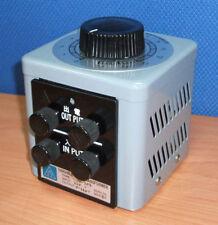 Slidac Variac Variable Transformer, Single Phase 220 / 240V input, 0.66 KVA