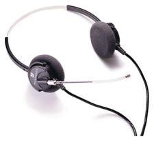 Plantronics P61-U10P Supra Binaural Polaris Voice Tube Headset New in Bulk Pack