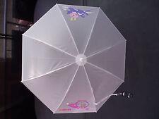 BNWT Boys or Girls Cute White Animal Print Auto Opening Umbrella