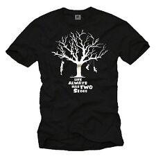 Lustiges T-Shirt Herren/Männer Aufdruck SARKASMUS Big Bang Theory schwarz/weiß