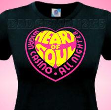 Wigan Casino Heart of Soul Northern Soul - Wigan Casino LADIES Cotton T-Shirt