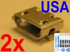 2x Lot of Micro USB Charging Port Sync For Lenovo Tab 2 Tablet Many Models USA !