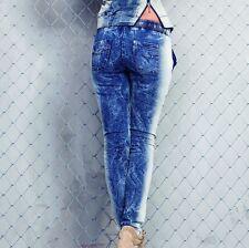 FOGGI Damenjeans Jeans Damenhose Hose Röhrenjeans Hüftjeans Boyfriend 34-38 #F21
