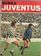 Orig.PRG   UEFA Cup  1974/75  JUVENTUS TURIN - HAMBURGER SV  1/4 FINALE  !!  TOP