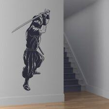Ninja Muursticker Japanse Strijder Muurtattoo Jongens Slaapkamer Huisdecoratie