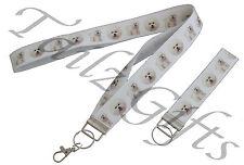 Bichon Frise Breed of Dog Matching Lanyard   Keyring Key Ring   Bookmark