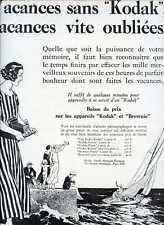 "1924 KODAK Camera - 12"" x 16""  French Ad"