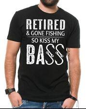 Fishing T Shirt Retired And Gone Fishing Funny T-shirt Fishing t shirts
