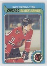 1979-80 O-Pee-Chee #102 Cliff Koroll Chicago Blackhawks Hockey Card