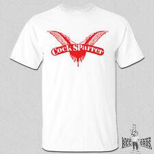 COCK SPARRER - LOGO T-Shirt NEU S-XXL Skinhead Oi Oi! Punk Last Resort 4 Skins