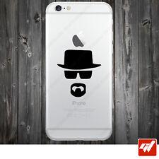 Sticker Autocollant Apple Iphone 4 5 6  Lot de 2X - Heisenberg breaking bad IPH1