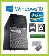 Cheap Fast Dell Optiplex 3010 PC Computer Quad i5 4GB/8GB 500 1TB/SSD Windows 10