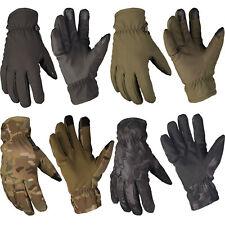 Mil-Tec Softshell Handschuhe Thinsulate S-XXL Fingerhandschuhe Touch Handschuh
