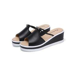 Sandales élégant sabot compensé chaussons 8 argent confortable comme cuir 9807 J3oFtiU