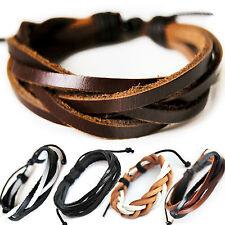 Lederarmband Surferarmband Unisex ! Armband Leder Herren Damen Leather Bracelet