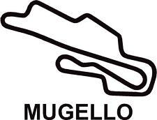 X2 CIRCUITO MUGELLO ITALIA PISTA contorno Vinile Decalcomanie Adesivi Grafica