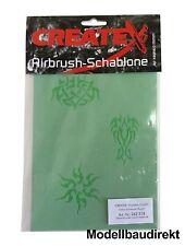 Runen Tattoo Lackier-Schablonen Set Airbrush Schablone Createx 262518 NEU & OVP