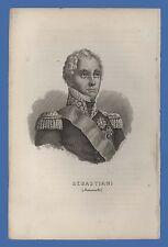 Maresciallo di Francia Sebastiani Memoriale Sant'Elena conte Las Cases