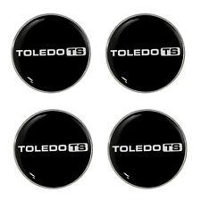 Triumph Toledo TS Logo Self Adhesive Set of 4 Gel Wheel Centres