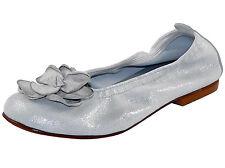 Clic! Ballerinas 8475 Lederschuhe Kinderschuhe 3D Blume elegant Gr. 32 Neu