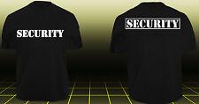 SECURITY T-Shirt Sicherheitsdienst Ordner Police Polizei SWAT Sicherheit TOP PRE