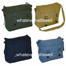Cincha Haversack Messenger Bag Ejército Militar Retro Lona de algodón