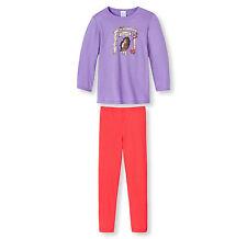 pyjama fille de Schiesser, motif cheval kaponny 104 116 128 pyjama neuf