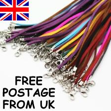 Tanga Cuerda Collar de cuero de gamuza Elige Color-envío gratis desde el Reino Unido