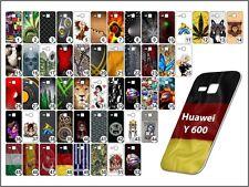 étui de portable Huawei Y 600 étui coque Coque Motifs TPU élastique