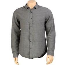 $64 KR3W Dooly Long Sleeve Shirt (grey) K15213GRY