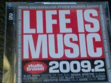 LIFE IS MUSIC 2009.2 - MEER ONSTERFELIJKE STUDIO BRUSSEL SONGS (2 CD)