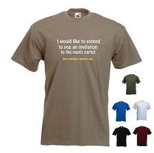 '...Pants party' - Brick Tamland - Classic Anchorman - Funny mens T-shirt. S-XXL