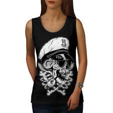 Pirate Swag Head Skull Women Tank Top NEW | Wellcoda