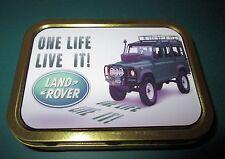 Land Rover One Life 1 & 2oz Tobacco, Storage, Bait Tin