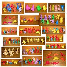 Kaugummi Figuren AUSSUCHEN Sammlung Tiere Asterix WBP Warner Disney Tito u.a.