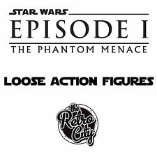 Vintage Star Wars Episode 1 la menace fantôme loose action figures