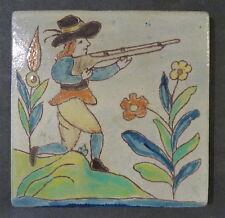 Spanish Pottery & Tile Co. Rare Vintage Hunter Tile