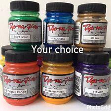 Jacquard Dye-Na-Flow Liquid Color for Fabrics 2.25 Fl. Oz.~ Your Color Choice