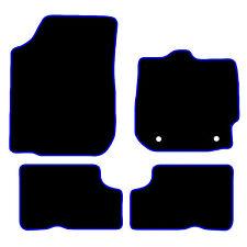 Adapté Voiture Noire Tapis De Sol Tapis pour DACIA DUSTER 2013+ bleu ou rouge bordure