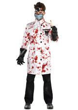 Mens Halloween Gruesome Demented Dentist Costume