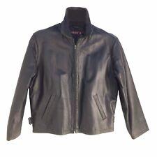 3359 Phase 2, Vintage, Men's Zip up, Genuine Lambskin Leather Short (Hip) Jacket