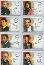 ALIAS Seasons 1,2,3 & 4  Autograph And Pieceworks Card Selection NM Inkworks