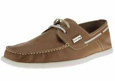 Natazzi Mens Leather Yacht Club Original 2 Eye Boat Shoe