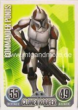 Star Wars Force Attax  Commander Ponds #024