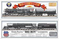 Train,Union,Southern,Pacific,Santa Fe,Steam,Locomotive,Railroad,Big Boy,Hudson