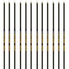 12 NEW Gold Tip Arrows Hunter PRO 300 340 400 500 Shafts Nocks Inserts 1 DOZEN