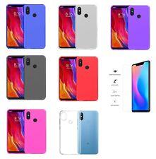 Funda Xiaomi Redmi Note 6 Pro (6.26) TPU LISA GEL SILICONA + CRISTAL COMPLETO